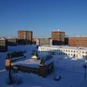 2010 год. первый микрорайон, фото с крыши 7 дома 1 микрорайона
